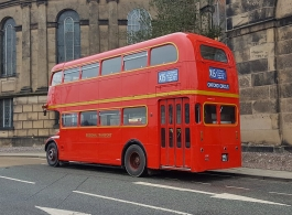 Red London Bus for wedding hire in Oswestry